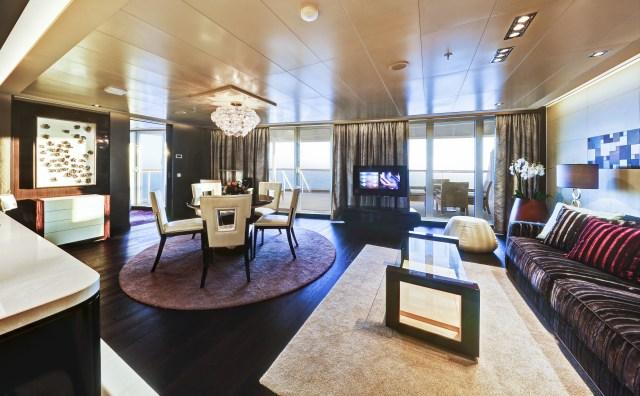 Norwegian cruises escape cruise ship owners suite
