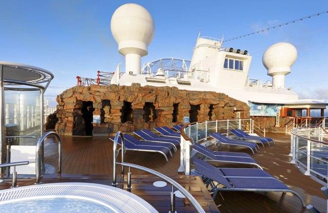 Norwegian cruises escape cruise ship spice deck