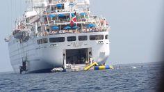Small ship cruising windstar cruises wind surf aft