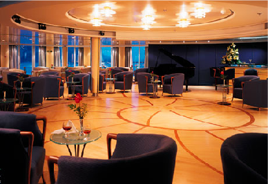 silverseas cruises explorer cruise ship lounge