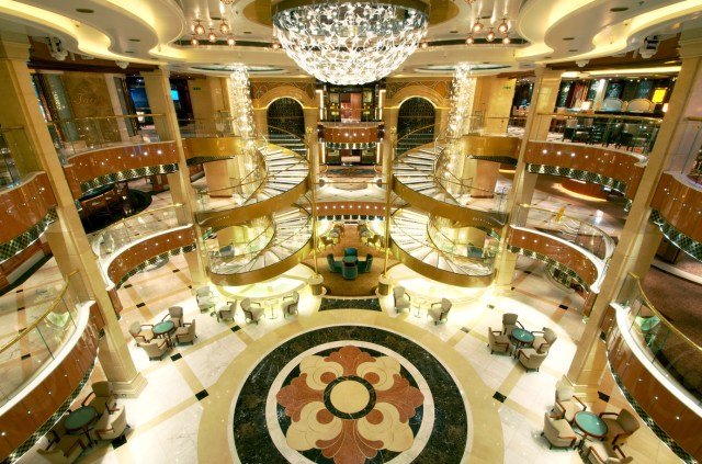 Princess Cruises Regal Princess atrium