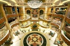 Princess Cruises Regal Princess atrium