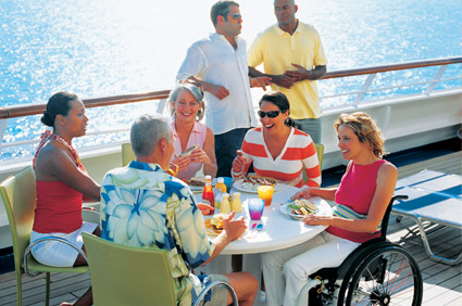 Accessibility improves on cruise ships