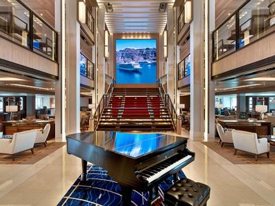 viking cruise atrium