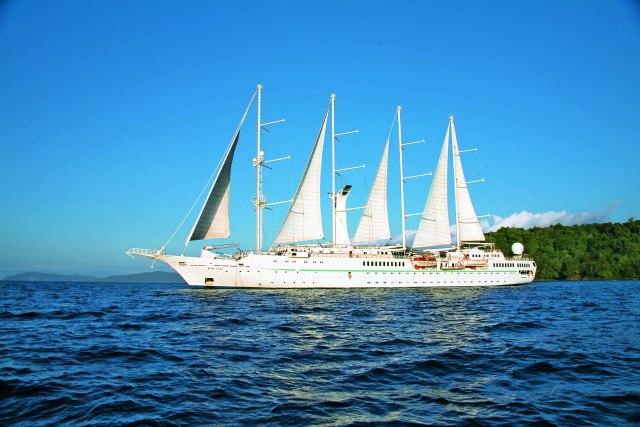 Windstar Cruises Star cruise ship exterior