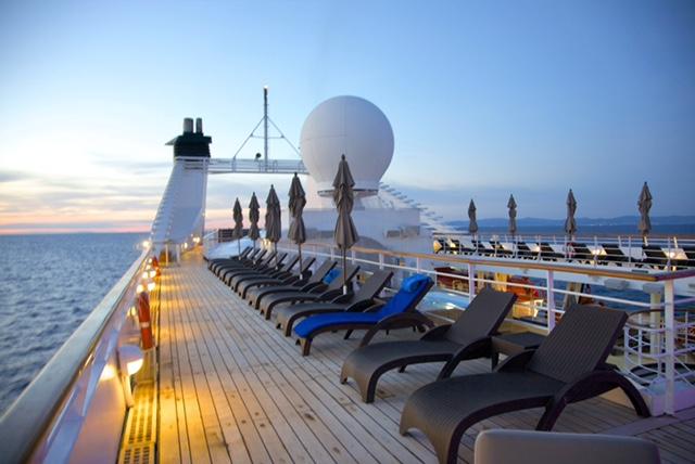 Windstar Cruises ship deck