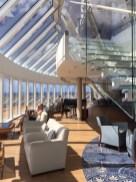 Viking Cruises Viking Star cruise ship Explorer lounge staircase