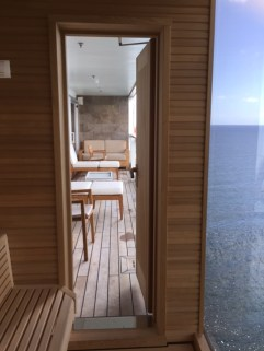Viking Cruises Viking Star cruise ship sauna