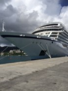Viking Cruises Viking Star cruise ship bow exterior