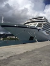 Viking Cruises Viking Star cruise ship bow exterior
