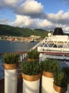 Viking Cruises Viking Star cruise ship retractable dome and planters