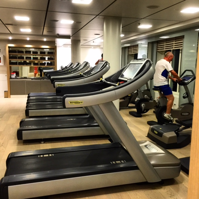 Viking Cruises Viking Star cruise ship gym treadmills