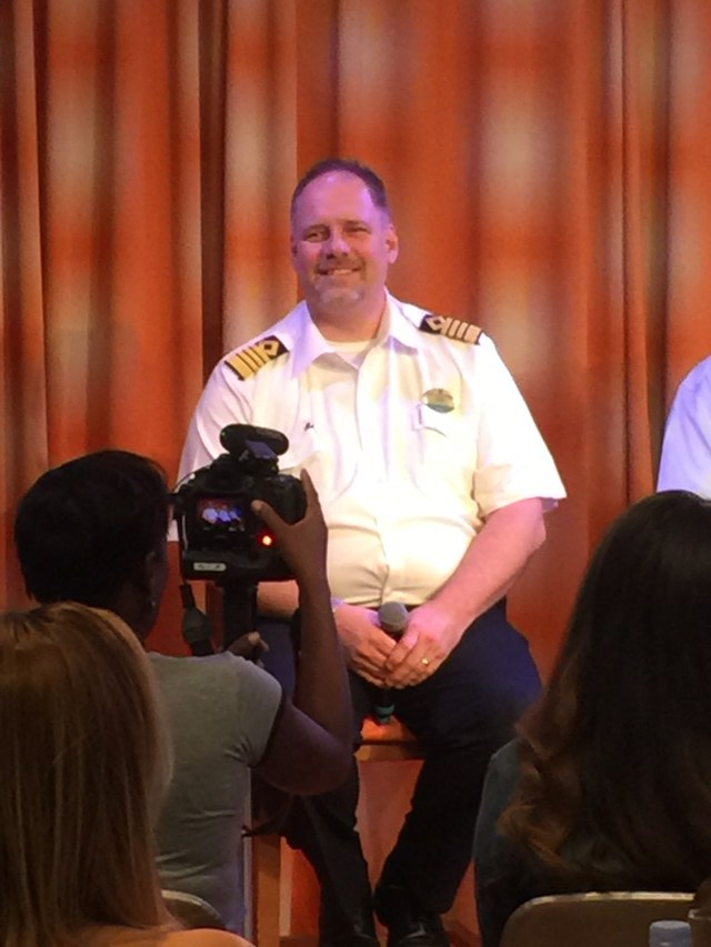 Royal Caribbean Cruises Harmony of the Seas cruise ship captain gus
