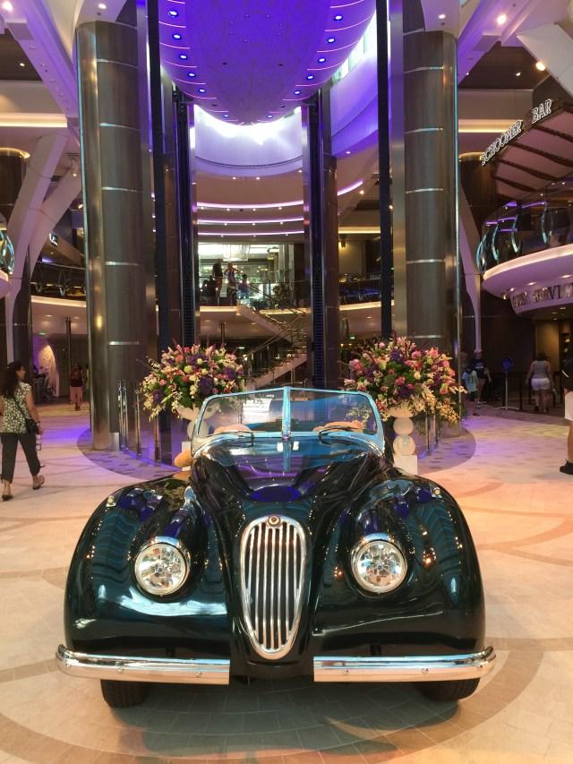 Royal Caribbean Cruises Harmony of the Seas cruise ship atrium jaguar