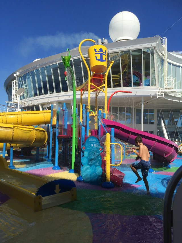 Royal Caribbean Cruises Harmony of the Seas cruise ship waterpark