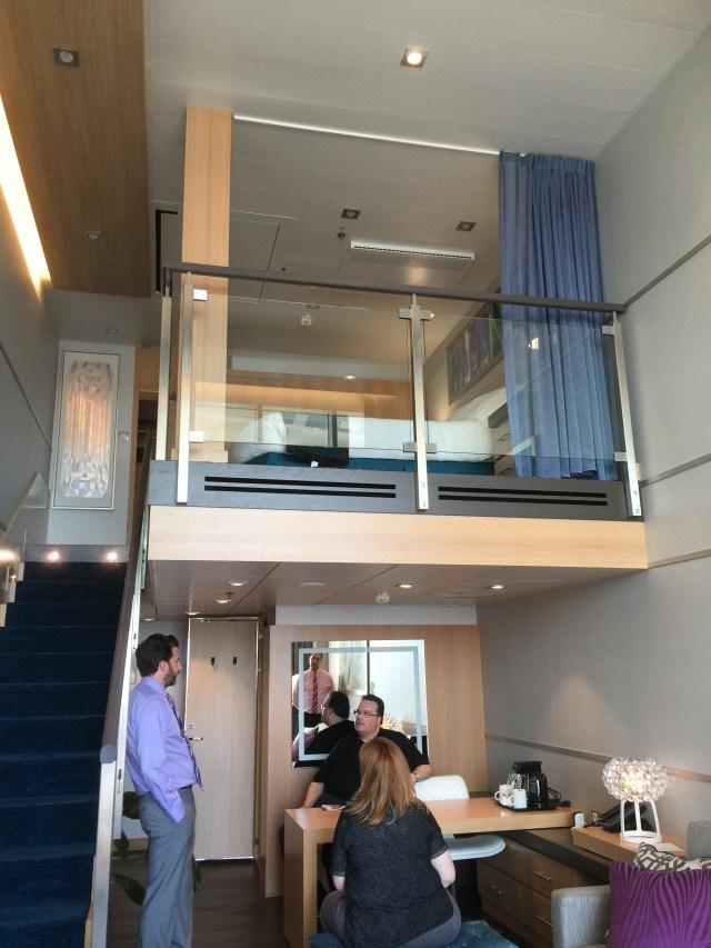 Royal Caribbean Cruises Harmony of the Seas cruise ship loft suite