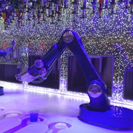 Royal Caribbean Cruises Harmony of the Seas cruise ship robot bartender