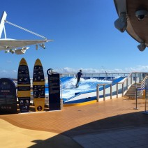 Royal Caribbean Cruises Harmony of the Seas cruise ship flowrider surfer