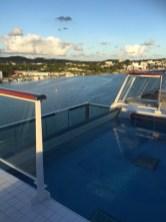Viking Cruises Viking Star cruise ship aft pool closeup