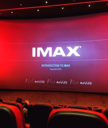 Carnival Cruises Vista cruise ship IMAX theater