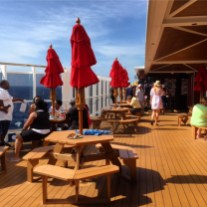 Carnival Cruises Vista cruise ship barbecue