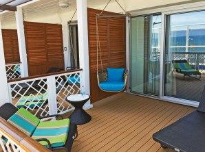 Carnival Cruises Vista cruise ship balony swing