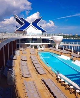 celebrity cruises edge cruise ship pool hot tubs