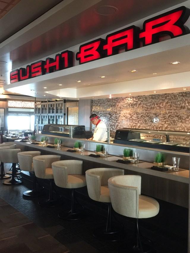 Norwegian cruises Jade cruise ship Norway sushi bar