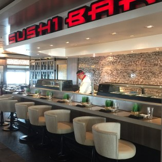 Norwegian cruises Jade cruise ship Norway sushi bar