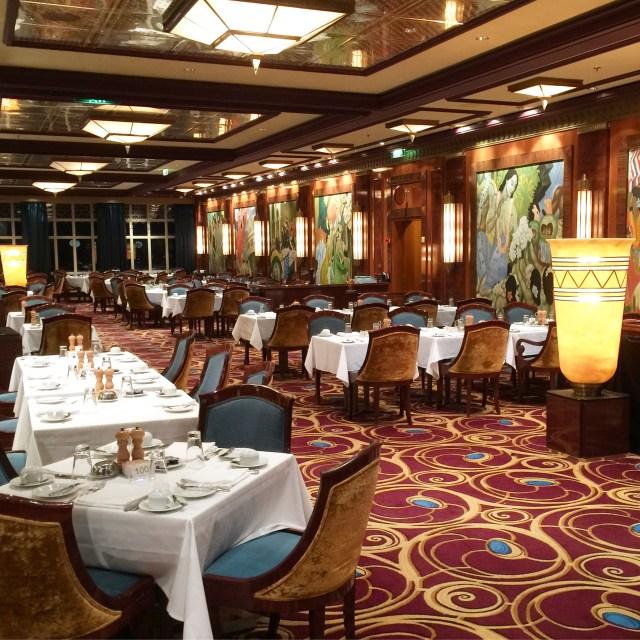 Norwegian cruises Jade cruise ship Norway dining room