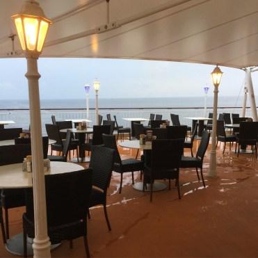 Norwegian cruises Jade cruise ship Norway top deck aft
