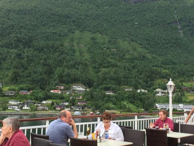 Norwegian cruises Jade cruise ship Norway aft