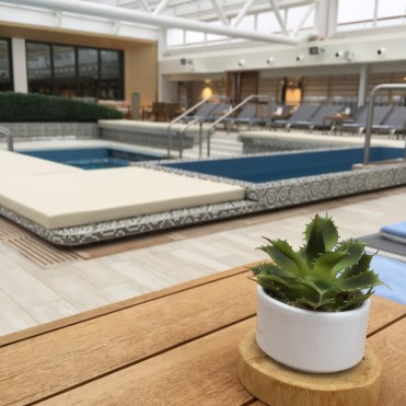 Viking cruises sky cruise ship mid ship pool deck