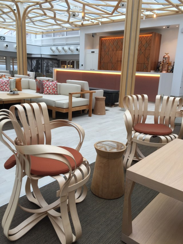 Viking cruises sky cruise ship chairs