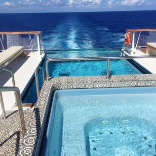 Viking cruises sky cruise ship pool