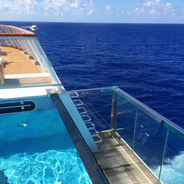 Viking cruises sky cruise ship aft pool balcony