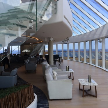 Viking cruises sky cruise ship explorers lounge piano