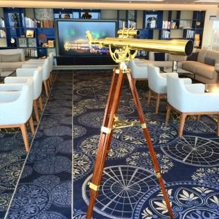 Viking cruises sky cruise ship observation lounge telescope