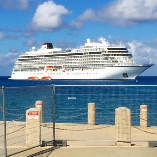 Viking cruises sky cruise ship cayman islands