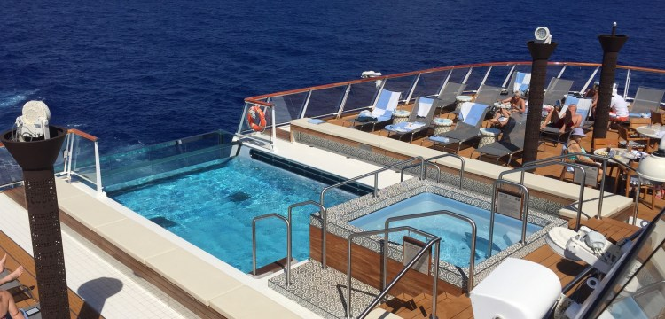 Viking Sky cruise ship aft pool 2