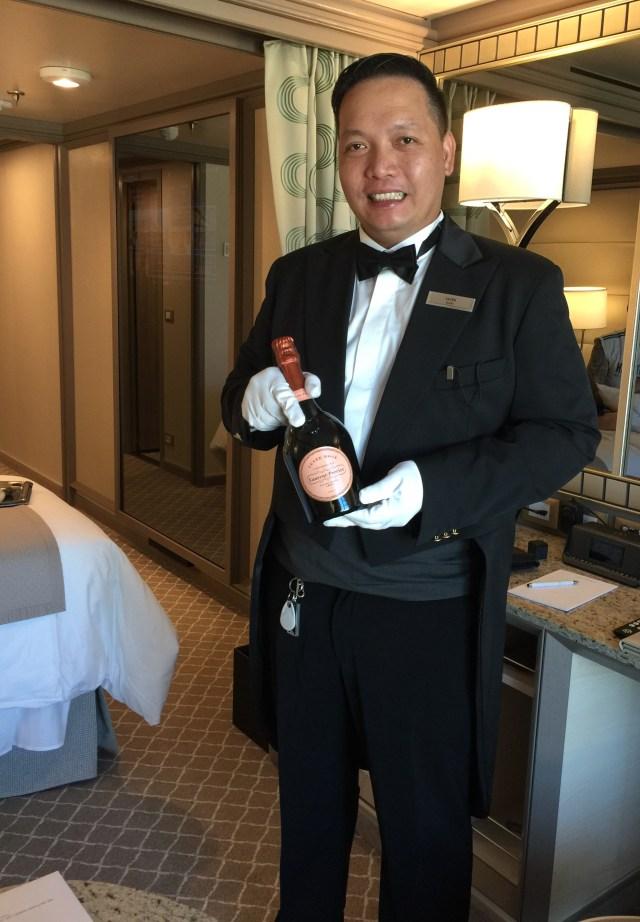 Silversea cruises silver muse cruise ship butler