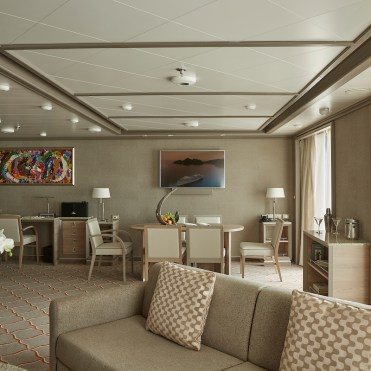 Silver Muse, Royal Suite, Grand Suite