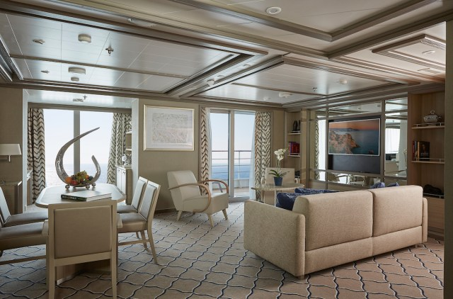Silversea cruises silver muse cruise ship owners suite