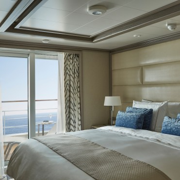 Silver Muse, Owner's Suite, view, veranda, balcony