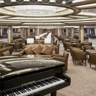 Silversea cruises silver muse cruise ship piano
