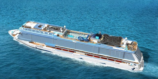 Norwegian Bliss top view