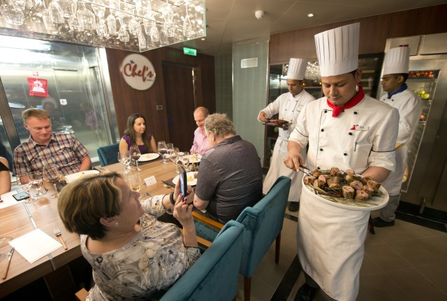Carnival cruises Horizon cruise ship Chef's Table