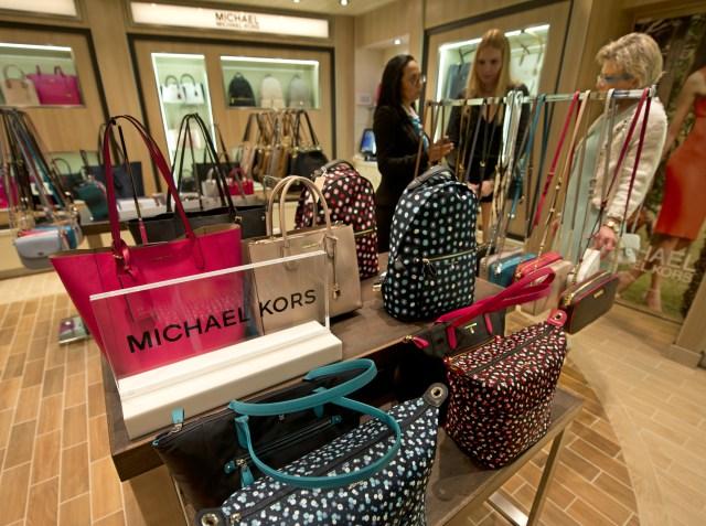 Carnival Horizon purses cruise ship shop with Michael Kors items