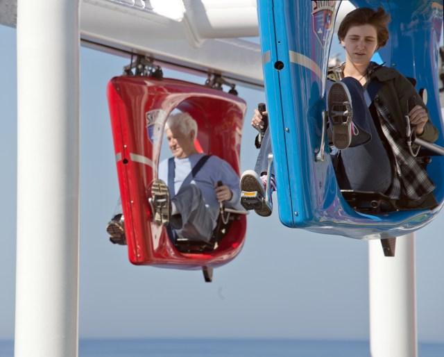 Carnival cruises Horizon cruise ship skyride bikes