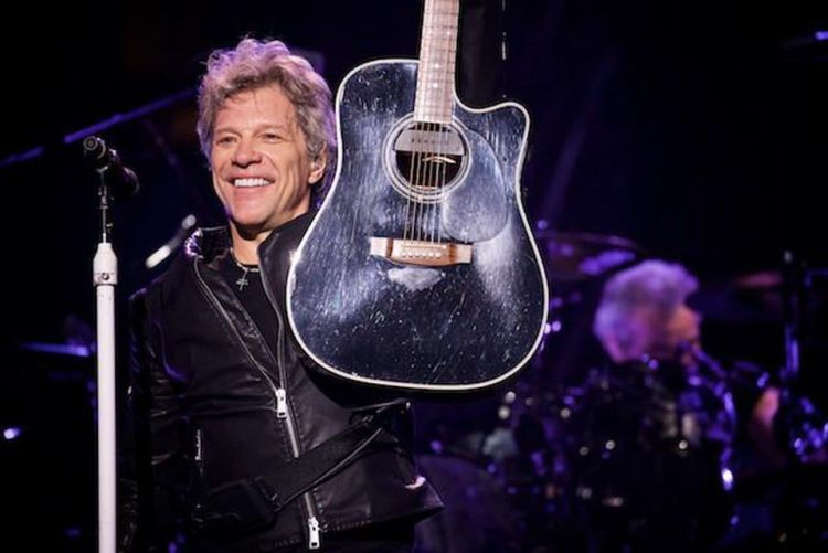 Jon Bon Jovi on Norwegian Cruises Jade cruise ship